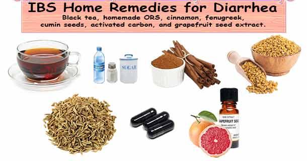 IBS diarrhea home remedies