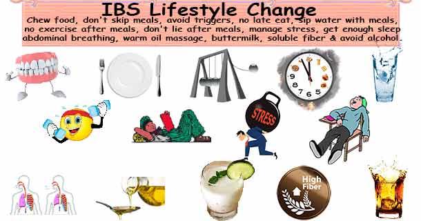 IBS Lifestyle change