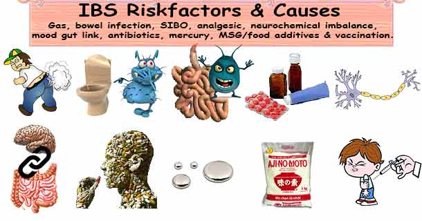 IBS risk factors and causes