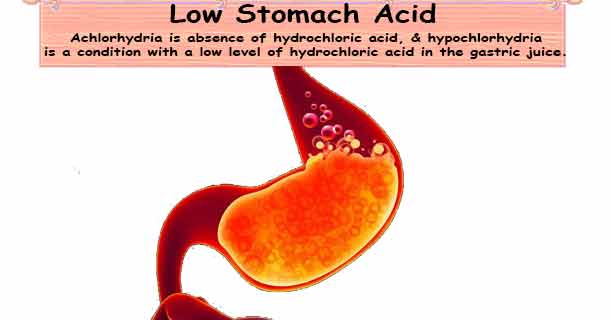Low Stomach Acid